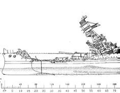 This image gives a pretty good impression of just how much of her hull ...