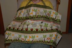 Nursing Cover Giraffes Elephants Whales and by NeatSeatCoversNMore, $12.00