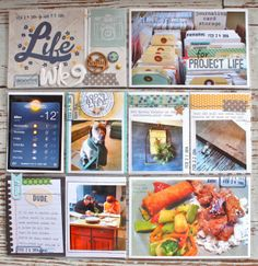Mish Mash: Project Life 2014....Week 9 using Simple Stories from April Gossamer Blue Kits