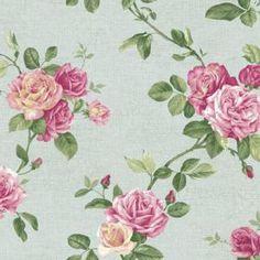 Roses by York wallpaper PN0472, 1-877-229-9427 www.eadeswallpaper.com  #designerwallpaper  #wallpaper  #decor  #home