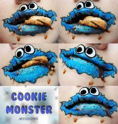 Cookie Monster Om Nom Nom