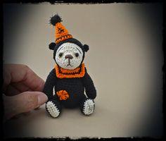 Thread Artist Bear ~Boo Bear~ Thread Heads© by Deb