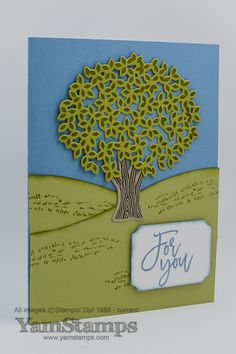 Thoughtful Branches Card – Yamstamps.com - Linda's Stamping Blog