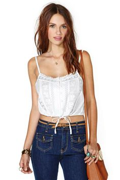 Sweet Bliss Crop Top on Wanelo