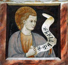 Frescoes of the Basilica of Sant'Abbondio, Como, Italy by renzodionigi, via Flickr
