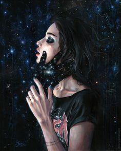 "tanyashatseva:"" GRAVITY TRANCE Spacetime tells matter how to move; matter tells spacetime how to curve.Keep reading"" Art Sketches, Art Drawings, Dope Kunst, Jolie Photo, Dope Art, Claude Monet, Psychedelic Art, Anime Art Girl, Surreal Art"