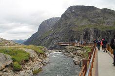 4 Freizeiten Andalsnes Trollstiegen Norwegen Aida Aidasol Kreuzfahrt Aussichtsplattform