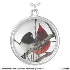 Cardinal and the Sno