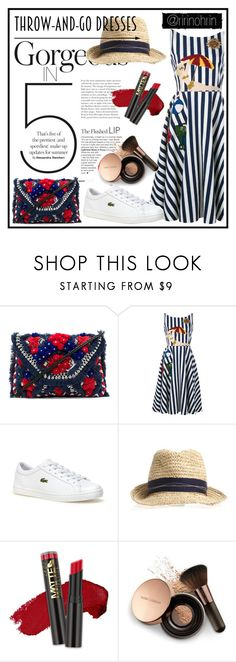 """""""throw & go, lets date darl"""" by rindularas on Polyvore featuring Antik Batik, Dolce&Gabbana, Lacoste, L.A. Girl, Nude by Nature, antikbatik, throwandgodress and bwdress"""