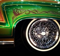 I think the Latino's are some of the best custom car painters on the Planet! I LOVE their low riders. If I could ever afford to have a car customized - I would seek the top Latina custom car shop in the USA and have them do all of the work!