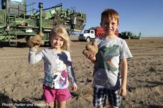 How many potatoes would it take to feed the world? Find out in this fun story!