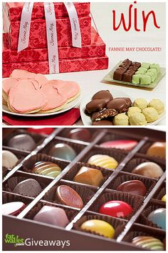 How would you like the Chance to Win 2 Delicious Chocolate Sets from my favorite chocolate maker Fannie May
