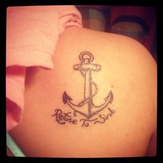 My birthday present to myself! Never give up! #tattos #refusetosink
