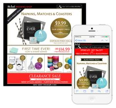 "To promote Black Friday deals on personalized wedding products, The Knot customized images at the moment of email open with each subscriber's name and wedding date information. The email was mobile optimized, featuring a ""click to call"" button to enable subscribers to place a phone order directly from the email. #emailmarketing #retail #media #mobileoptimization #holidayemail #personalization #realtime"