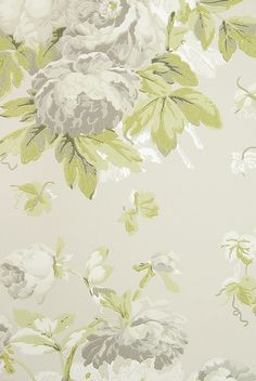 Garden Peony Wallpaper A Taupe Wallpaper With Large Floral Print Design In  Grey, Silver And Part 65