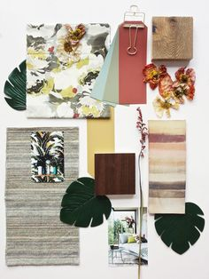 Interior Design Mood Boards: How to Get Started Interior Design Presentation, Colorful Interior Design, Colorful Interiors, Presentation Boards, Pantone, Mood Board Interior, Material Board, Mood And Tone, Colour Schemes