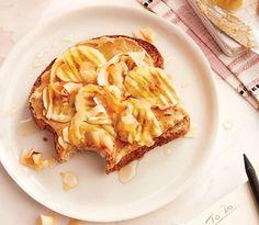 Banana-coconut toast - Chatelaine