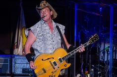 Ted Nugent Wants to Elect Trump and Kill Hillary Clinton Barack Obama