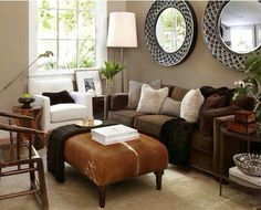 Living room colors for brown couch brown color living room ideas ideas living room color brown . living room colors for brown couch Brown Couch Living Room, Living Room Colors, My Living Room, Home And Living, Living Room Designs, Small Living, Modern Living, Dark Couch, Cozy Living