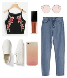 """""""Untitled #17"""" by arinamalyanova on Polyvore featuring Gap, Kate Spade and N°21"""