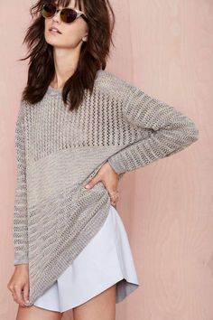 Comfy Open Knit Sweater