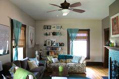When Regarding Ruffles.: Henry House: Living Room