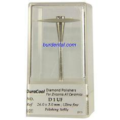 Ultra fine Grit Wheel Shape HP Shank Diamond Polisher (D1UF)