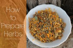 You've got your herbs. Now it's time to make herbal remedies. How do you prepare herbs in a way to get the maximum benefit from their properties? Here are some of my favorite ways to prepare herbs. Tea Teas are simply herbs prepared in hot water. They differ from infusions in that they use smaller …