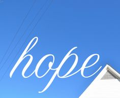 Hope isn't about knowing how things will come about. Hope is about envisioning the future and choosing to enjoy that now. Hope is really about rest. Resting in the imperfections of today because yo...