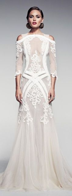 Wedding dress. Too sheer, but I like it. I'd have them sew in a lining.