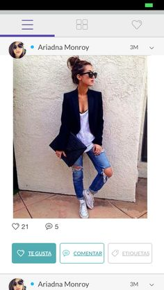 #casual # converse # blazer