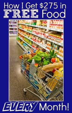 """Lower your grocery bill EVERY month with this proven system! I use it EVERY month to """"buy"""" $275 (or more!) in FREE Groceries! Part 1 of this post will show you how...part 2 (coming soon!) will teach you how I find the deals!"""