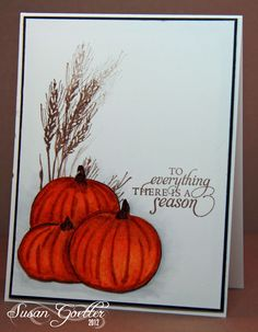 Best DIY Ideas of Handmade Thanksgiving Cards Picture 54 - Awesome Indoor & Outdoor Fall Cards, Winter Cards, Holiday Cards, Christmas Cards, Handmade Thanksgiving Cards, Thanksgiving Holiday, Harvest Moon, Pumpkin Cards, Halloween Cards