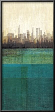 By Amori, print is produced on Forest Stewardship Council certified paper, using post-consumer and sustainably sourced paper, and soy-based inks.     @Gabriel Shaffer cool city scape
