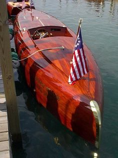 Wooden boats are the best!