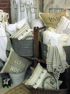 lovely pillows +....