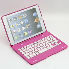 O-SKY 135 Rotating Angle Wireless Bluetooth Keyboard Case Cover Stand Combo for Apple iPad Mini Aluminum Pink for Women Girls SUPERNIGHT (TM),http://www.amazon.com/dp/B00D5OY71Q/ref=cm_sw_r_pi_dp_OC.2sb07N9FDVMPQ