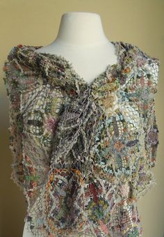 Sophie Digard crochet Reguilette scarf