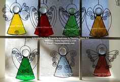 Angels - Stained Glass https://www.facebook.com/groups/TayamaCrafts/