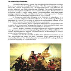 The 34 best Revolutionary War images on Pinterest | Teaching social ...