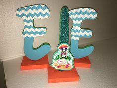 Mickey Mouse surfer letters foam