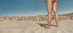 Great Beach - Evert Thielen | tempera