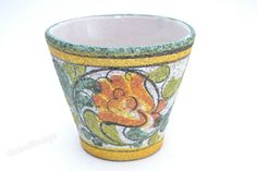 Small planter by Ruscha  decor Enzian by RetroMungo on Etsy