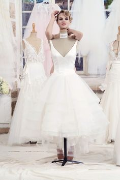 Anna Short Wedding Dress