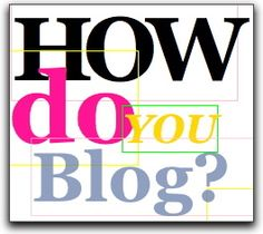 Hello everybody! I would like to know, how do you blog? I came across this idea and wanted to make a test, how and if people are struggling with setting up a blog, how do You blog, what about do you write and so on. So first I will tell you what do i do.