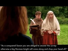"""The Domesday Book involved some brutal tactics. 