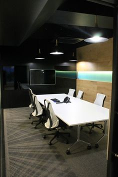 First Point Electrical. Some of our recent office projects. Electrical Projects, Conference Room, Table, Furniture, Home Decor, Decoration Home, Room Decor, Tables, Home Furnishings