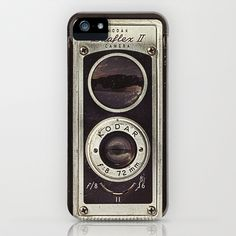 Vintage Camera 01 iPhone & iPod Case by HenryWine