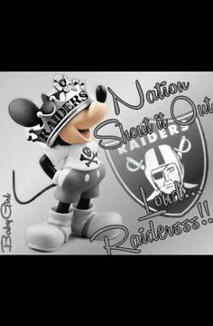 Nation Shout it Out Loud... Raidersss!!