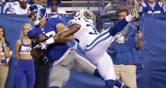 Preseason Week 2 Giants vs. Colts - Giants WIN AGAIN!!! What a comeback! The New York Giants defeat the Colts in a thrilling 27-26 win! View game photos!  (8/16/14)